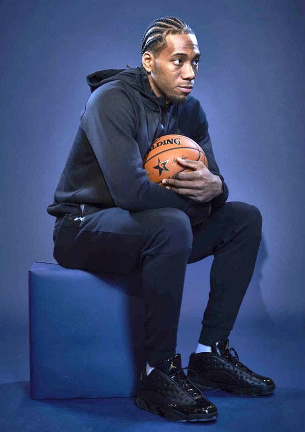 huge discount bcec5 16be8 Air Jordan 13 Low Black Patent Leather Kawhi Leonard   SneakerNews.com