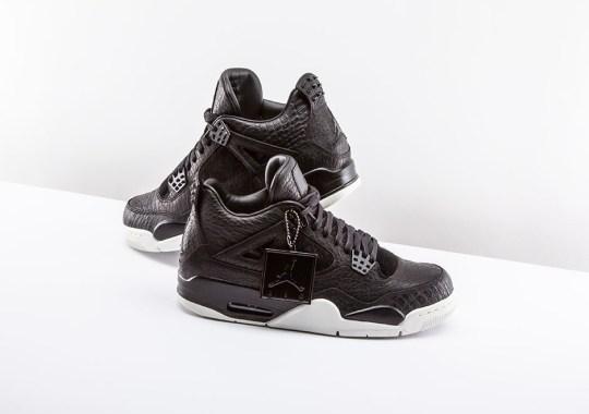 Jordan Brand Brings Reptile Skin And Pony Hair To The Air Jordan 4 Pinnacle
