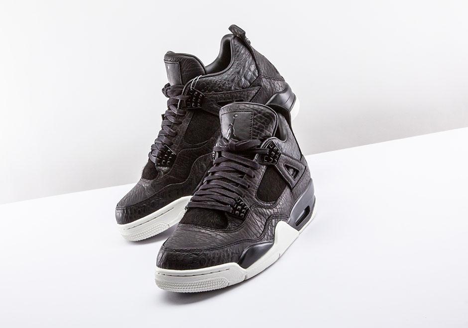 Jordan Brand Brings Reptile Skin And Pony Hair To The Air Jordan 4 ... 513e9b122