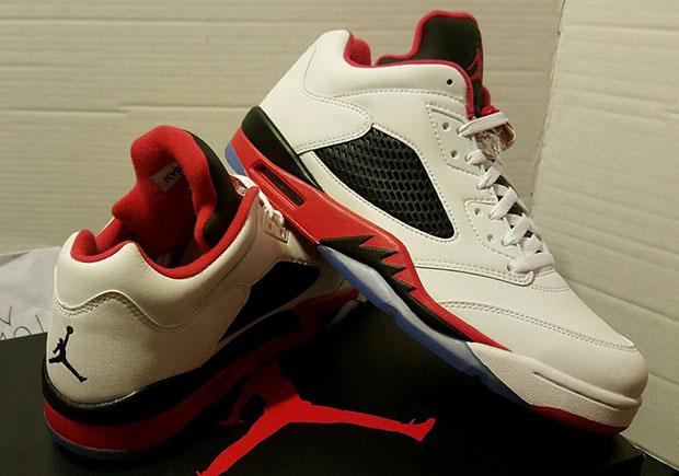 164f99aa40f Air Jordan 5 Low Fire Red Release Date | SneakerNews.com