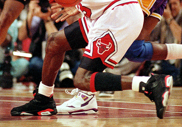 finest selection c0648 8365c Air Jordan 6 Infrared from 1991 NBA Finals Auction ...