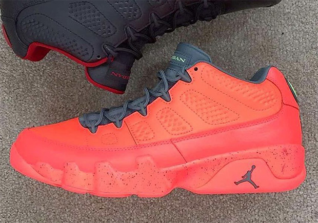 The Air Jordan 9 Low Releasing In All-Red