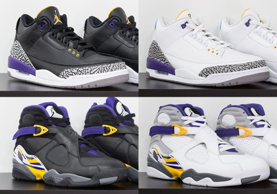Jordan Brand Honors Kobe Bryant With Special Edition Air Jordan Set
