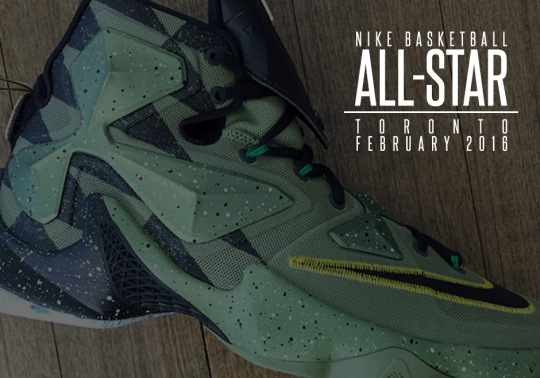 "A Closer Look At The Nike Basketball ""All-Star"" Collection For Toronto"