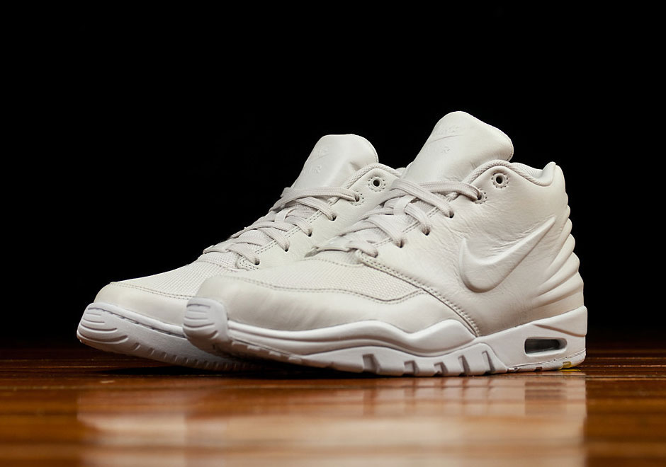 The Nike Air Entertrainer Is On Sheshoeses In All White