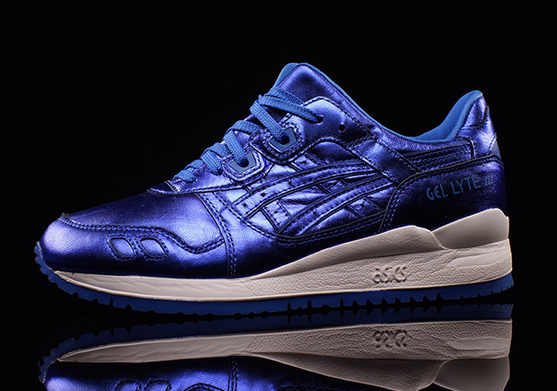 "ASICS GEL-Lyte III ""Metallic Royal"" - SneakerNews.com"