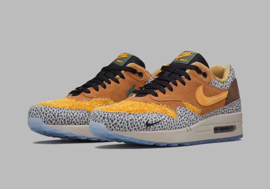 atmos x Nike Air Max 1 Safari 2016 Retro | SneakerNews.com