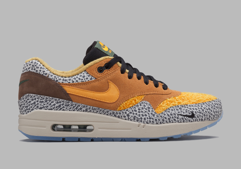 Nike Air Max 1 Safari 2016 Demostración Departamento JZP0I