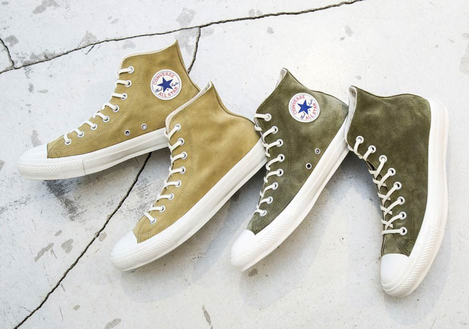 9bf596c3637 Beauty   Youth x Converse Chuck Taylor Hi In Suede