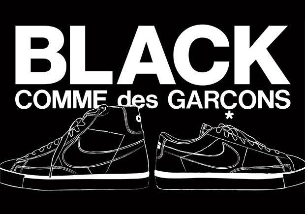 CDG x Nike Blazer For Fashion Week
