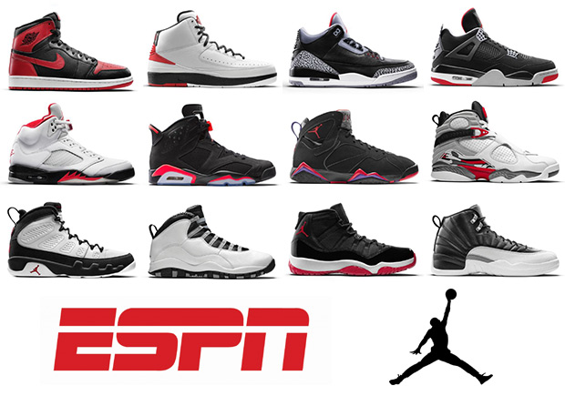 13f63f7b2 ESPN Ranks Every Air Jordan In History - SneakerNews.com