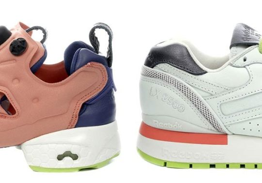 Beauty Brand FACE Teams Up With Reebok For Two Classic Runners