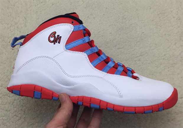 best service 4a268 2c5d5 Air Jordan 10 Retro Inspired By The Chicago City Flag. February 18, 2016 by  Sneaker News