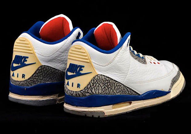 "best cheap fdfd9 97e51 Air Jordan 3 ""True Blue"" With Nike Air Releasing On Black Friday"