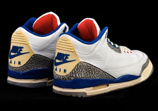"Air Jordan 3 ""True Blue"" With Nike Air Releasing On Black Friday"