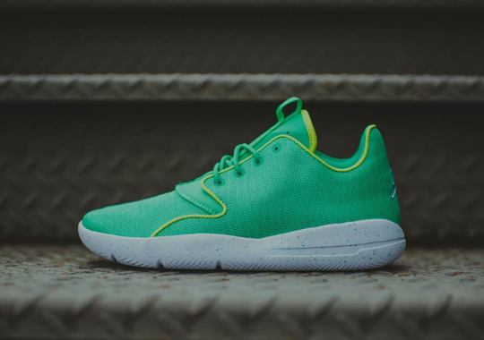 "Jordan Eclipse Goes ""Gamma Green"""