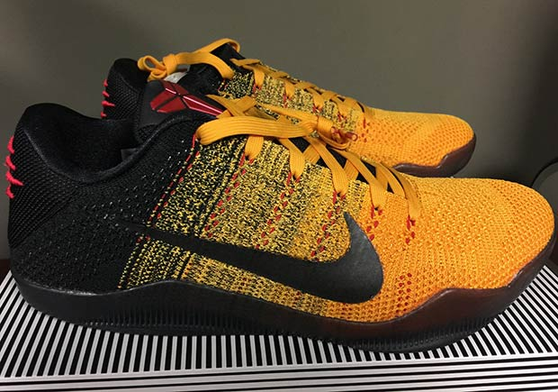 Nike Kobe 11. Color  University Gold University Red-Black Style Code   822675-706. Release Date  March 19th 107dd78fb