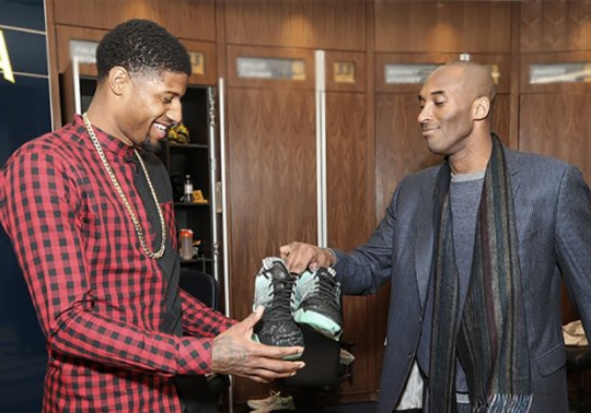 Is Nike And Kobe Bryant Hinting At A Signature Shoe For Paul George?