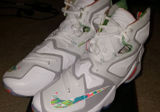 "First Look At The Nike LeBron 13 ""Easter"""