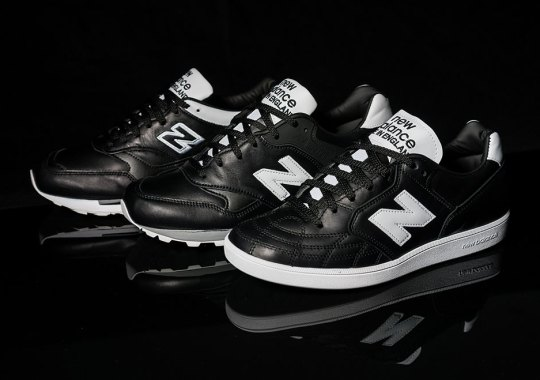 "New Balance's ""Football"" Pack Is In Stores Now"