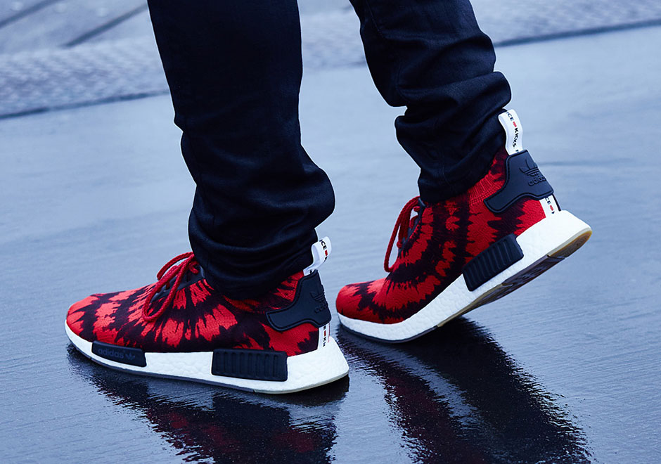 Nmd runner w red / white Adidas