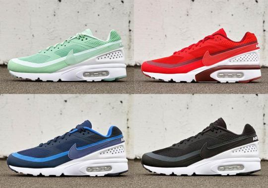 Nike Unveils Four Colorways Of The Air Classic BW Ultra