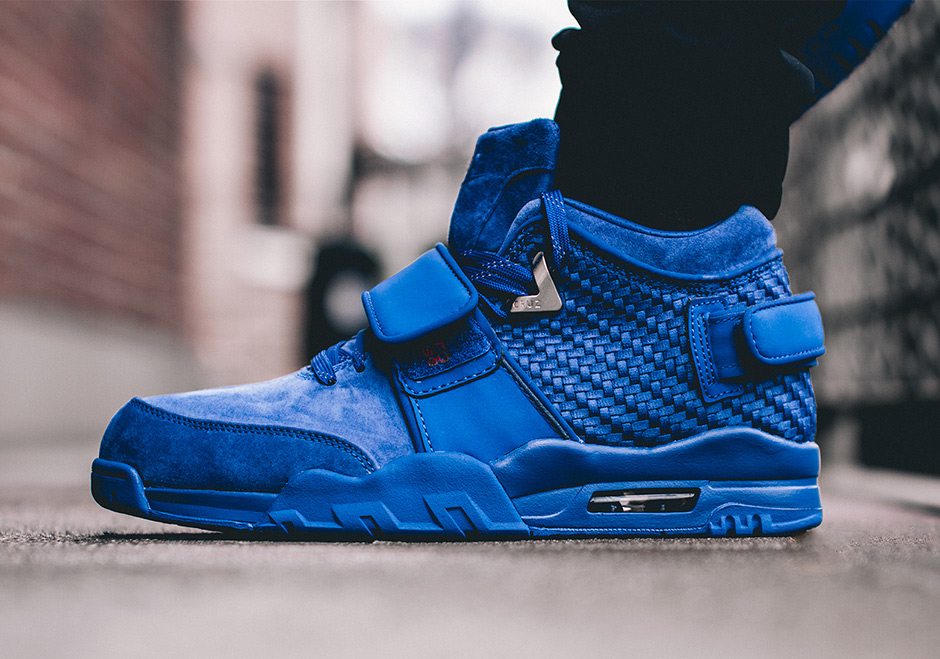 """grossiste a0c1c 25c80 An On-Foot Look At The Nike Air Trainer Cruz """"Rush Blue ..."""