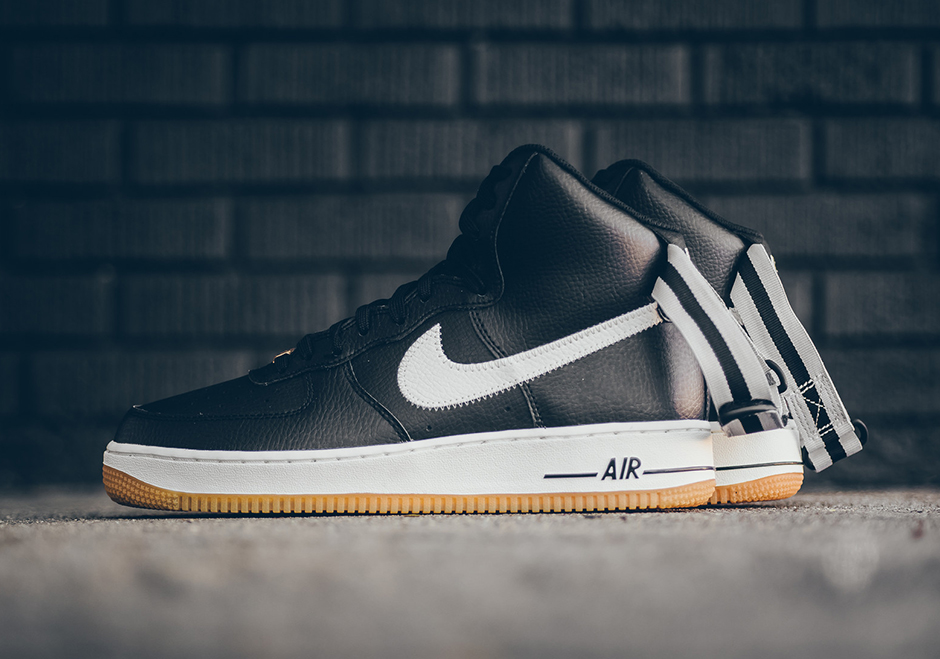 nike air force 1 basketball sneaker logos
