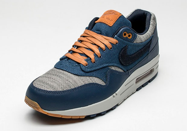 best service 8c320 660ad Nike Air Max 1 PRM. Color Midnight NavyDark Obsidian-Cider Style Code  512033-404