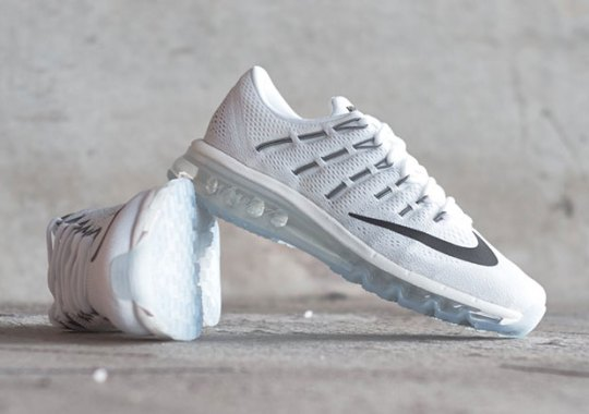 huge discount c1e8b e60d6 The Nike Air Max 2016 In Angelic All-White