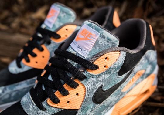 """Nike Air Max 90 PRM """"Digi-Camo"""" Hits Stores"""