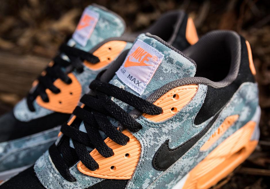 """a3be9d4a0fd6c2 Nike Air Max 90 PRM """"Digi-Camo"""" Hits Stores - SneakerNews.com"""