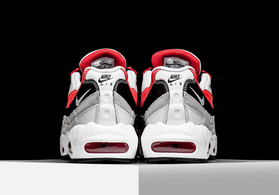 Nike Air Max 95 Jordan Rossi Universitari Essenziale uP7cUs8