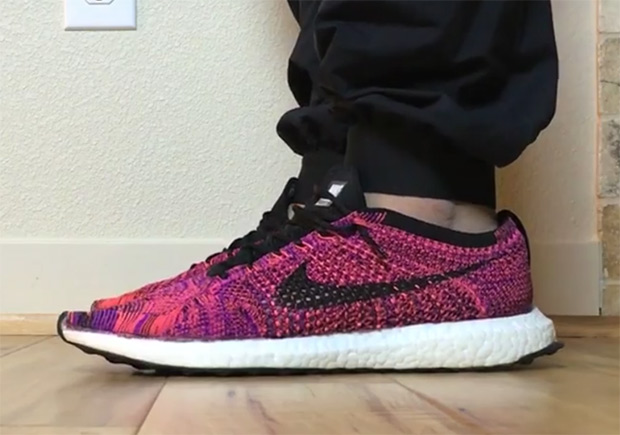 low priced 7b62d 7ac14 Sneaker Customizer Swaps An Ultra Boost Sole Onto The Nike ...