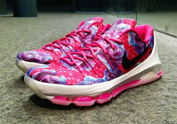 """829013e55598 Another Look At The Nike KD 8 """"Aunt Pearl"""""""