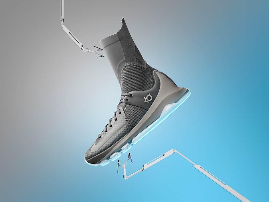 online store 5e440 30ac1 BJS Sepatu Basket Nike Under Armour Curry Kobe KD Lebron Running Shoes PO Nike  KD 8 Elite. Release Dates April 14th (White), ...
