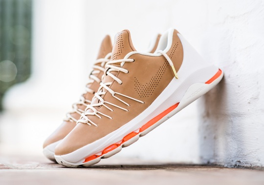 "The Nike KD 8 EXT ""Vachetta Tan"" Releases This Weekend"