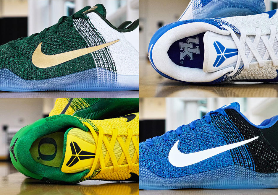 huge discount 0e740 71fbc Nike Prepares March Madness Kobe 11 Elite PEs For Duke, Kentucky, Oregon,  and Michigan State - SneakerNews.com