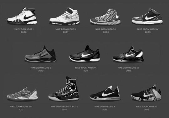 "Nike To Release Kobe ""Fade To Black"" Retro Collection"