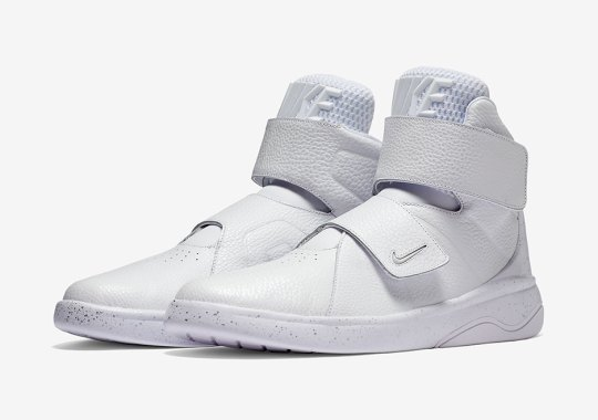 The New Nike Marxman Sneaker Features No Shoelaces