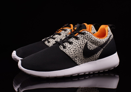 Even The Kids Can Rock The Safari Print Roshes