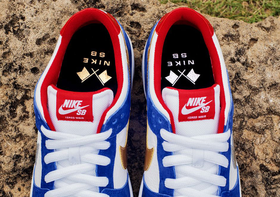 hot sale online 42729 fc42f Ishod Wair Has Yet Another Nike SB Dunk Low Just For Him