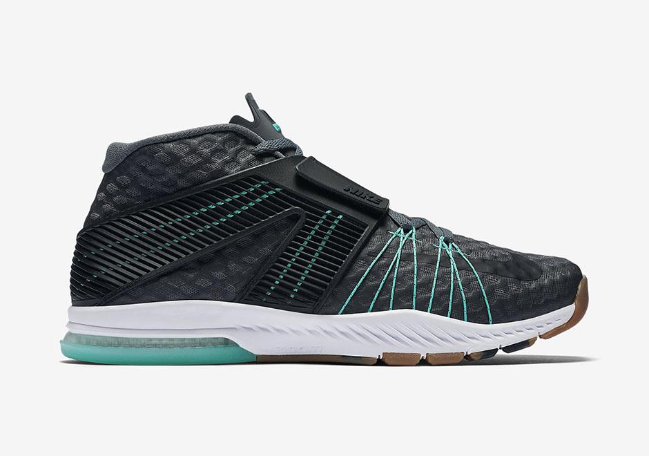 Nike Zoom Train Toranada. Color: Dark Grey/Hyper Turquoise/White/Black Style  Code: 835657-003. Price: $140