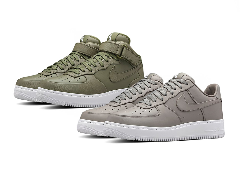 nike air force 1 low or mid