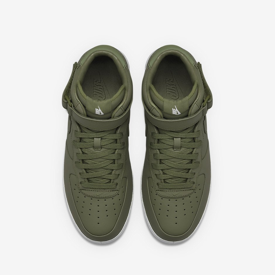 check out 555ef 37f6e NikeLab Air Force 1 Mid. Color  Urban Haze Urban Haze-White Style Code   819677-300. Release Date  3 3 2016. Price   170