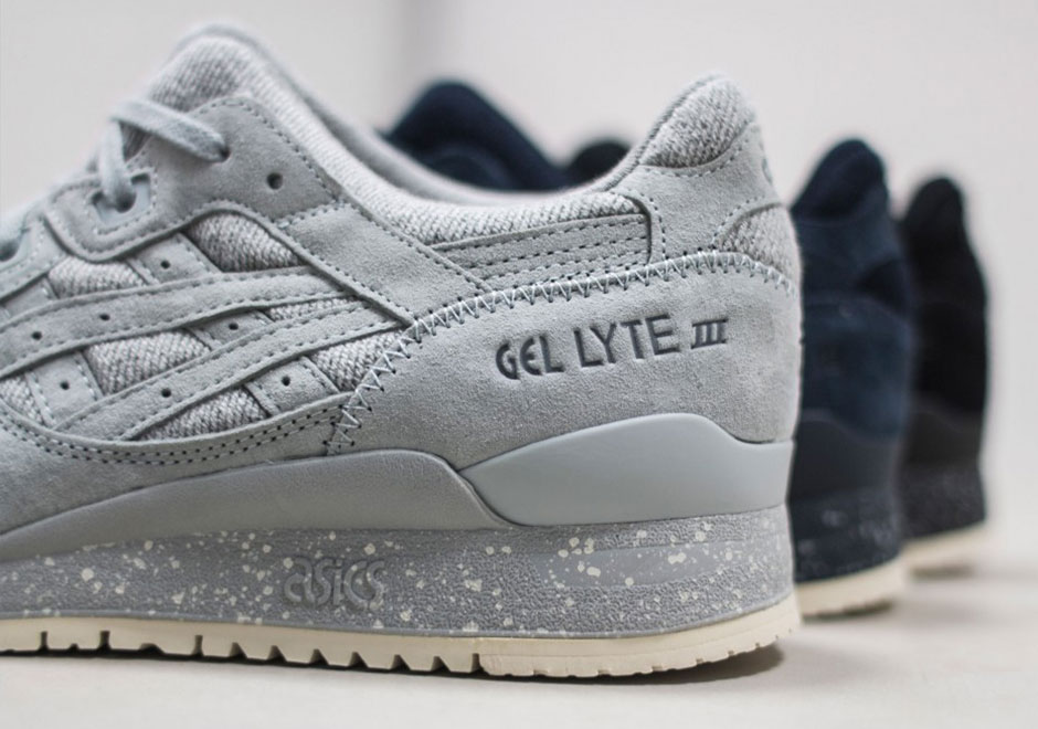 the latest ce9a7 b730f A Detailed Look At The Reigning Champ x ASICS GEL-Lyte III ...