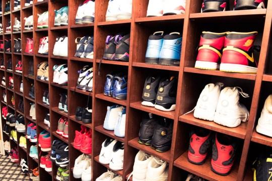 Rick Ross Displays His Sneaker Closet Like A Museum