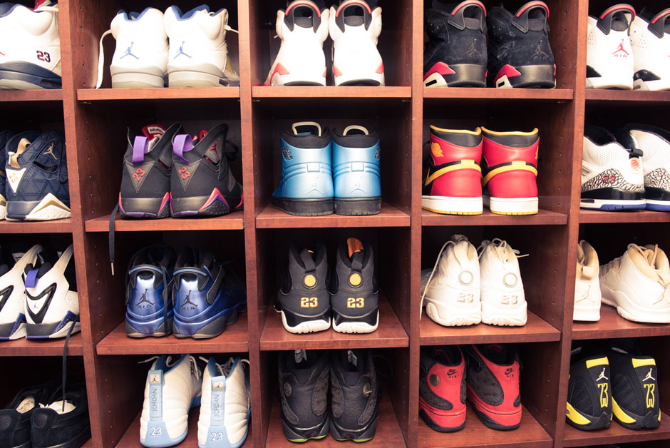 Rick Ross Displays His Sneaker Closet Like A Museum