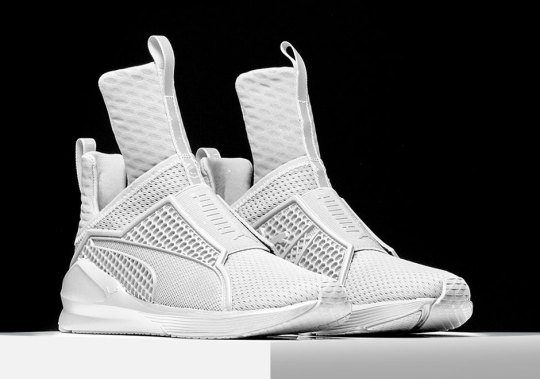 Rihanna And Puma Unveil First Original Sneaker Collaboration, The Fenty Trainer