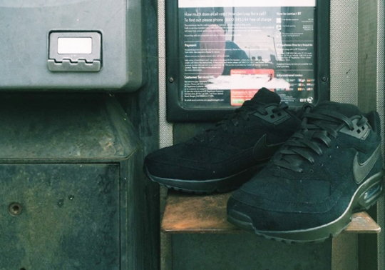 """Skepta Shows Off His Nike Air Classic BW """"Blacklisted"""" Collaboration"""